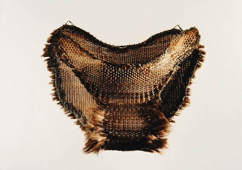 Underwear of human hair 1997<div style='clear:both;width:100%;height:0px;'></div><span class='cat'>2000-1996 (EN)</span><div style='clear:both;width:100%;height:0px;'></div><span class='desc'>Size: 25 x 35 x 5 cm <br>Material: Human hair, textile <br>Photo: Irene de Groot <br> Private Collection </span>