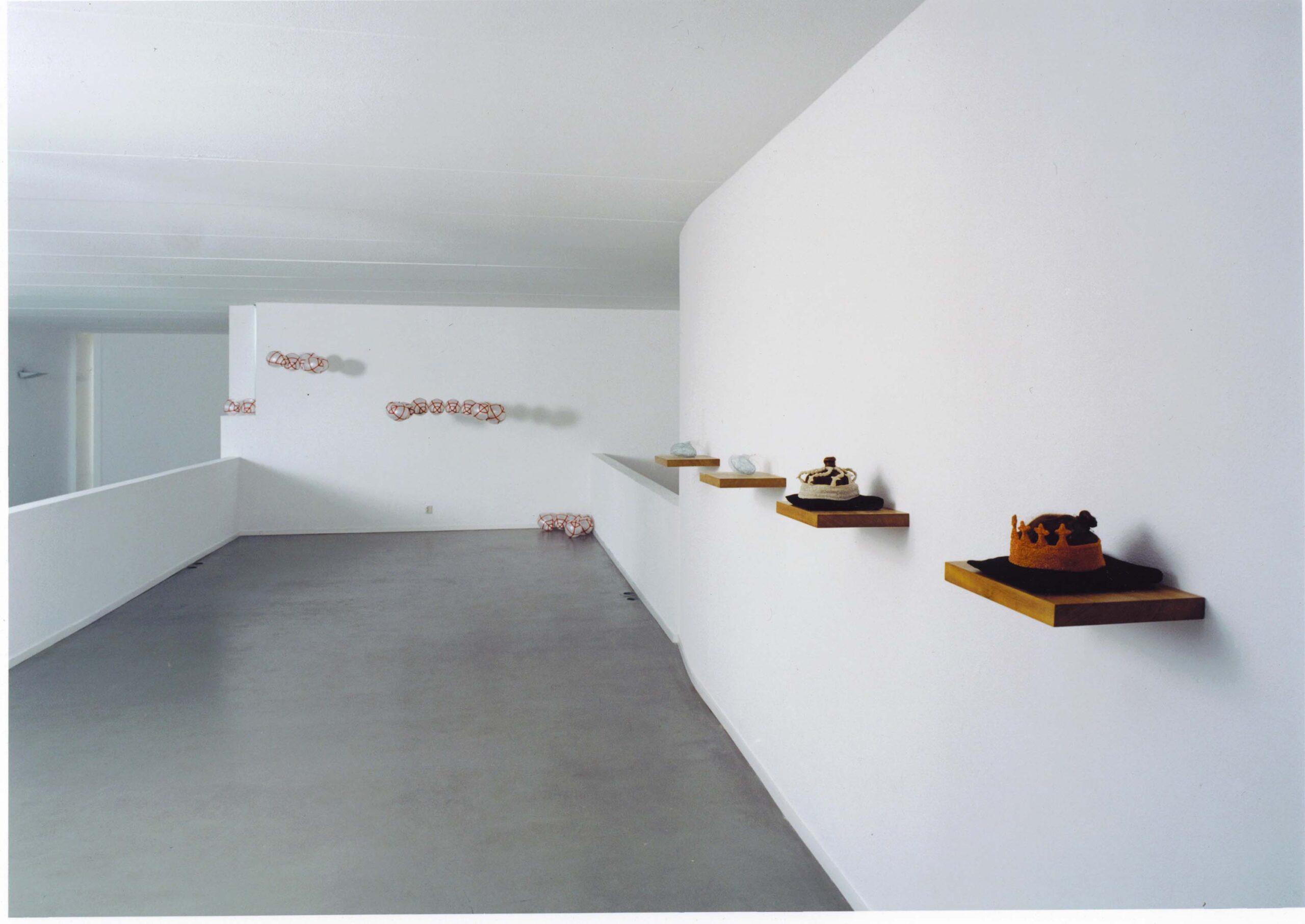 Solo Exhibition Diepenheim 2002<div style='clear:both;width:100%;height:0px;'></div><span class='desc'>Kunstvereniging Diepenheim  <br> Theme: 5 year review <br> Photo: Claude Crommelin</span>