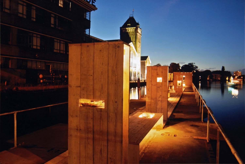 Deining Zaandam 2009<div style='clear:both;width:100%;height:0px;'></div><span class='desc'>Project 'WEEK' in buiten tentoonstelling Zaandam <br>Ontwerp: Bert Kramer</span>